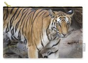 Bengal Tiger And Cubs Bandhavgarh Np Carry-all Pouch