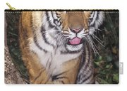 Bengal Tiger By Tree Endangered Species Wildlife Rescue Carry-all Pouch