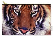 Bengal Tiger Eye To Eye Carry-all Pouch