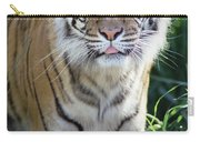 Bengal Tiger Portrait Carry-all Pouch