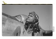 Benjamin Davis - Ww2 Tuskegee Airmen Carry-all Pouch by War Is Hell Store