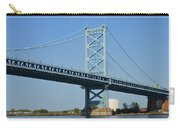 Benjamin Franklin Bridge Carry-all Pouch by Sonali Gangane