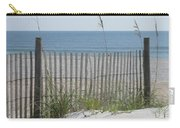 Bent Beach Fence Carry-all Pouch
