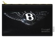 Bentley Logo Hood Ornament #  2 Carry-all Pouch