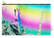 Benzoic Acid Microcrystals Coloful Abstract Art Carry-all Pouch