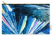 Benzoic Acid Microcrystals Color Abstract Carry-all Pouch