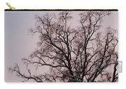 Bergen  Winter Tree Carry-all Pouch by Hakon Soreide
