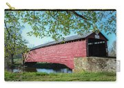 Berks Courty Pa - Griesemer's Covered Bridge Carry-all Pouch
