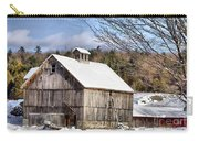 Berkshire Barn In Winter Carry-all Pouch