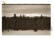 Berkshires Winter 1 - Massachusetts Carry-all Pouch by Madeline Ellis