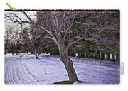 Berkshires Winter 2 - Massachusetts Carry-all Pouch