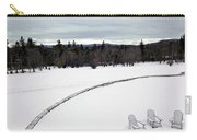 Berkshires Winter 2 - Massachusetts Carry-all Pouch