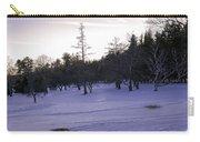 Berkshires Winter 5 - Massachusetts Carry-all Pouch