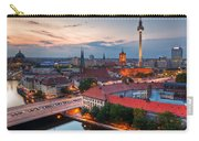 Berlin Germany Major Landmarks At Sunset Carry-all Pouch