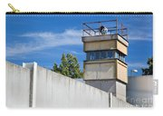 Berlin Wall Memorial A Watchtower In The Inner Area Carry-all Pouch