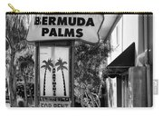 Bermuda Palms Bw Palm Springs Carry-all Pouch