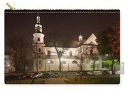 Bernandine Church At Night In Krakow Carry-all Pouch