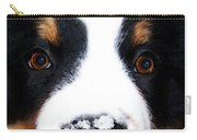 Bernese Mountain Dog - Baby It's Cold Outside Carry-all Pouch