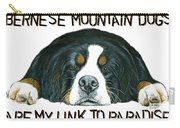 Bernese Mountain Dog Paradise Carry-all Pouch