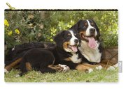Bernese Mountain Dogs Carry-all Pouch