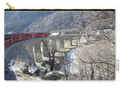 Bernina Express In Winter Carry-all Pouch