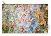 Berries Around The Tree - Abstract Art Carry-all Pouch