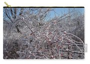 Berries In Ice Carry-all Pouch