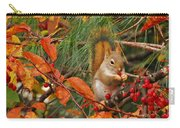 Berry Loving Squirrel Carry-all Pouch