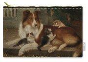 Best Of Friends Carry-all Pouch by Wilhelm Schwar