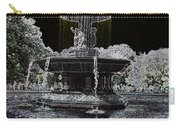Bethesda Fountain Abstract Carry-all Pouch