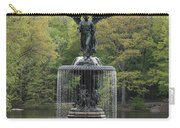 Bethesda Fountain Central Park Nyc Carry-all Pouch
