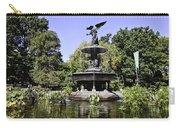 Bethesda Fountain Iv - Central Park Carry-all Pouch
