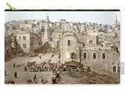Bethlehem Manger Square 1900 Carry-all Pouch
