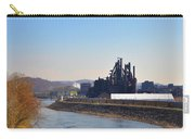 Bethlehem Steel And The Lehigh River Carry-all Pouch