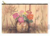 Betsy's Flowers 2 Carry-all Pouch