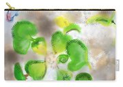 Betta Fish Blowing Bubbles Carry-all Pouch by Lois Ivancin Tavaf