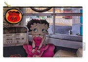 Betty Boop At Albuquerque's 66 Diner Carry-all Pouch
