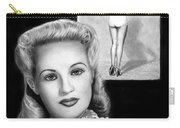 Betty Grable Carry-all Pouch by Peter Piatt