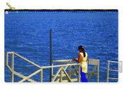 Between Sky And Sea Lachine Canal Viewing Pier Picturesque Water Scenes Montreal Art Carole Spandau Carry-all Pouch