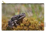 Beutiful Frog On The Moss Carry-all Pouch