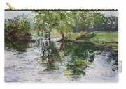 Bevier Park In The Rain Carry-all Pouch