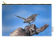 Bewicks Wren Carry-all Pouch