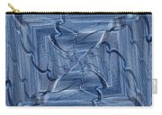 Beyond The Barrier Blues Carry-all Pouch