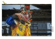 Bian Jiang Dancer Color Drawing Hp Carry-all Pouch