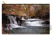 Bible Verse And Inspirational Greeting Card Autumn Fine Art Photography Prints And Posters. Carry-all Pouch