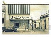 Biblioteca Cubana Carry-all Pouch