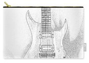 Bich Electric Guitar Sketch Carry-all Pouch