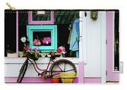 Bicycle By Antique Shop Carry-all Pouch
