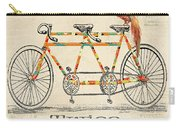 Bicycle For 2 Carry-all Pouch
