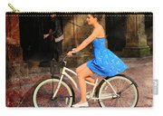 Bicycle Girl 1c Carry-all Pouch